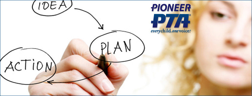 Pioneer School PTA Billings MT Montana PTA Banner