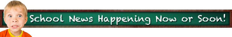 Newsletter Header Image Kid and Chalk Board