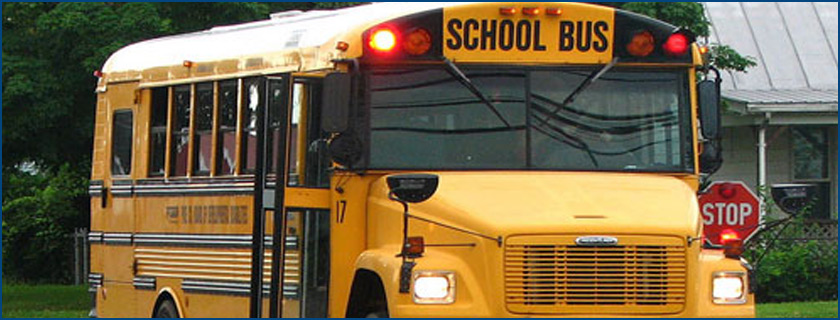 Bus for Pioneer School