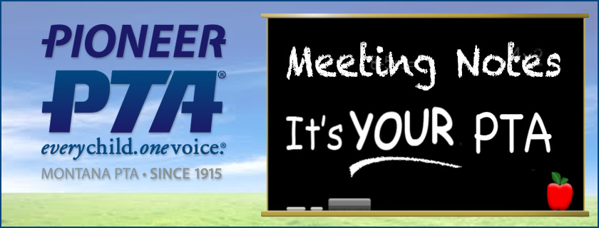 PTA Meeting Minutes September 2015