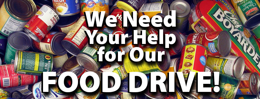 We need your Help with the December Cat/Griz Food Drive
