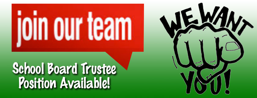 School Board Trustee Position Available