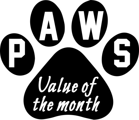 Icon of PAWS Value of the Month