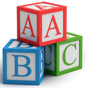 Cartoon ABC Blocks