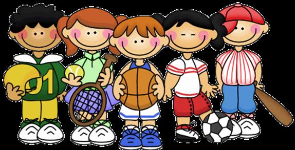 Cartoon Kids Physical Education Pioneer Elementarypng Pioneer Elementary School