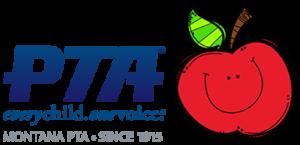 Logo panther pioner PTA cartoon apple
