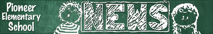 Newsletter Banner School News Pioneer
