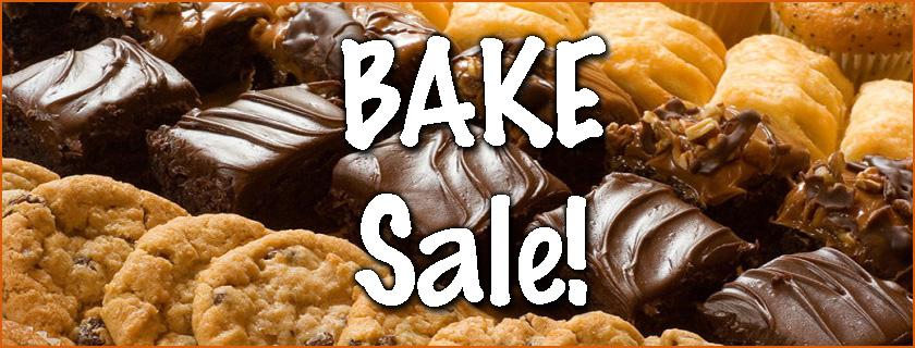 bake sale thanksgiving Fundraiser banner Flakesgiving at Pioneer