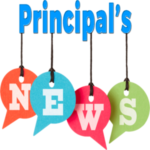 Icon Principal's News in the Newsletter