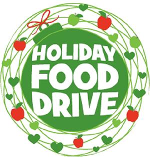 Holiday Food Drive Cartoon