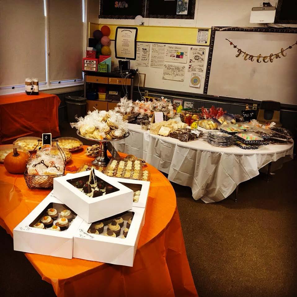 Pioneer School Bake Sale Image