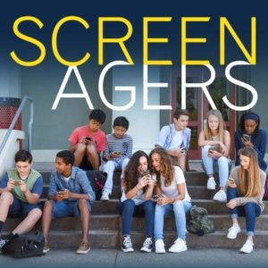 Screenagers Film Poster Kids on cell phones