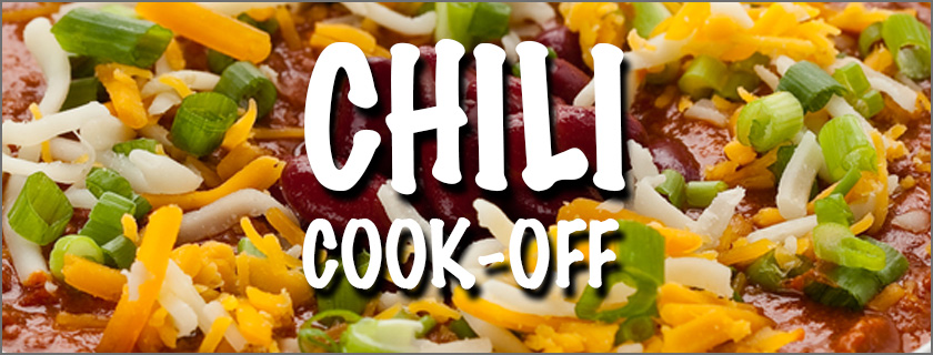 Chili Cook-Off January 26th