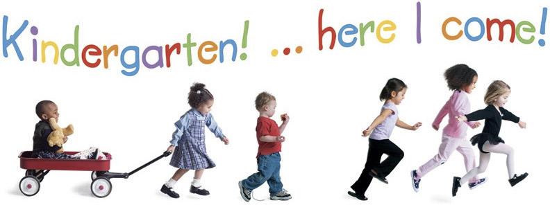 Kindergarten Roundup Kids Playing