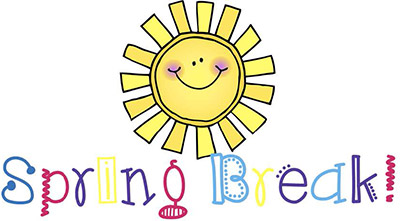 Spring-Break-Cartoon-Sunshine - Pioneer Elementary School