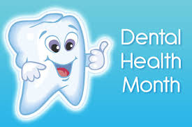 Happy Tooth Cartoon for National dental hygene Month