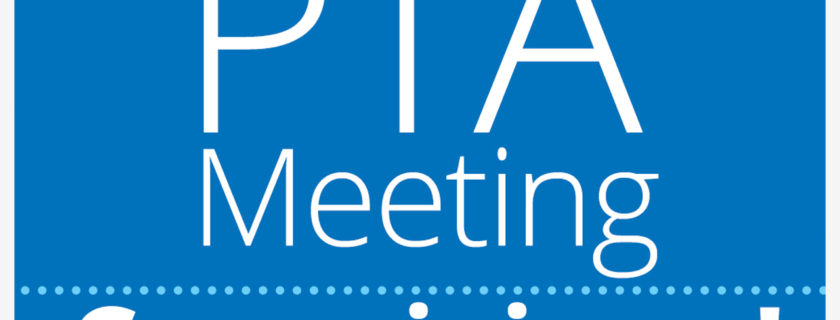 September PTA Meeting