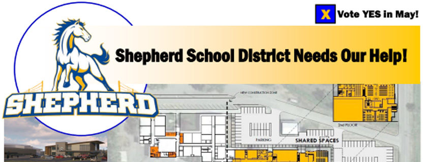 Shepher High School Banner