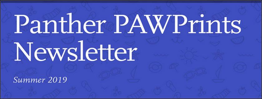 Summer 2019 PAWPrints Newsletter