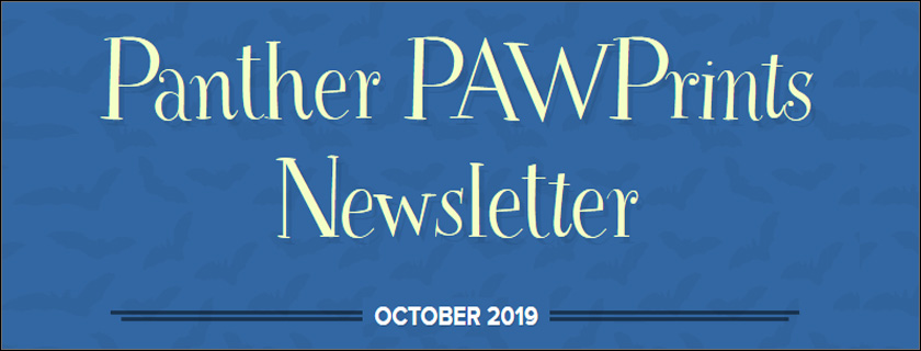 October 2019 PAWPrints Newsletter