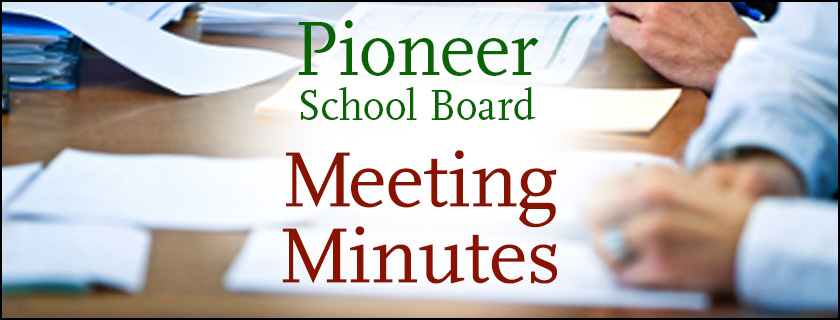 October 12th, 2020 Board Meeting Minutes