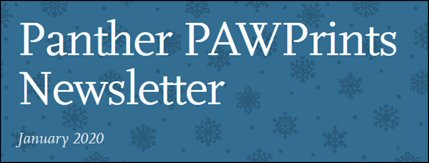 January 2019 PAWPrints Newsletter