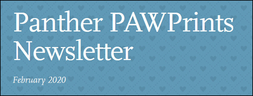 February 2020 PAWPrints Newsletter