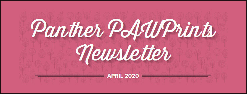 April 2020 PAWPrints Newsletter