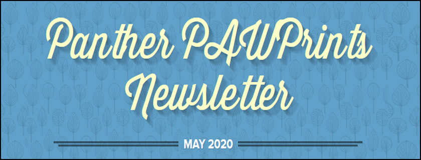 May 2020 PAWPrints Newsletter