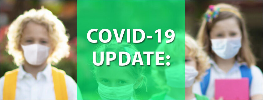 COVID-19 Update: New Return to School Guidelines