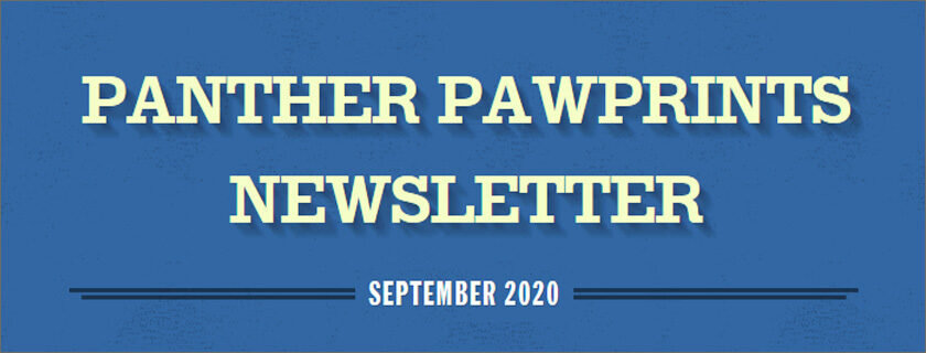 September 2020 PAWPrints Newsletter