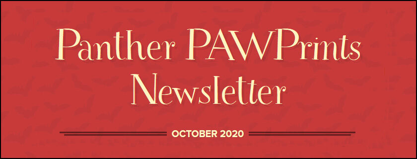 October 2020 PAWPrints Newsletter