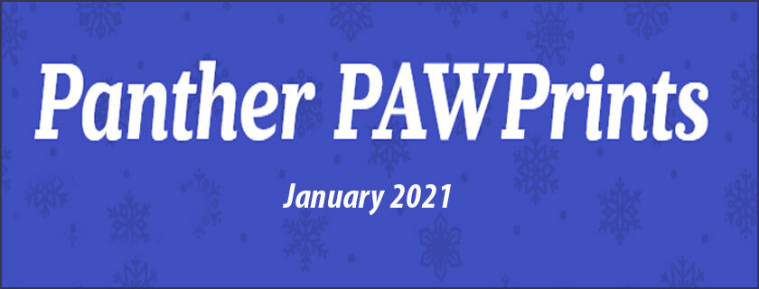 January 2021 PAWPrints Newsletter